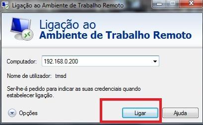 Remote Desktop Ubuntu (Ligação Ambiente Trabalho Remoto