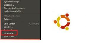 Ativar a opção hibernar no Ubuntu 12.04 principal
